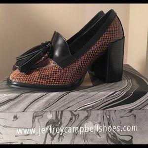 JEFFREY CAMPBELL Harper shoes. NWOT BEAUTIFUL